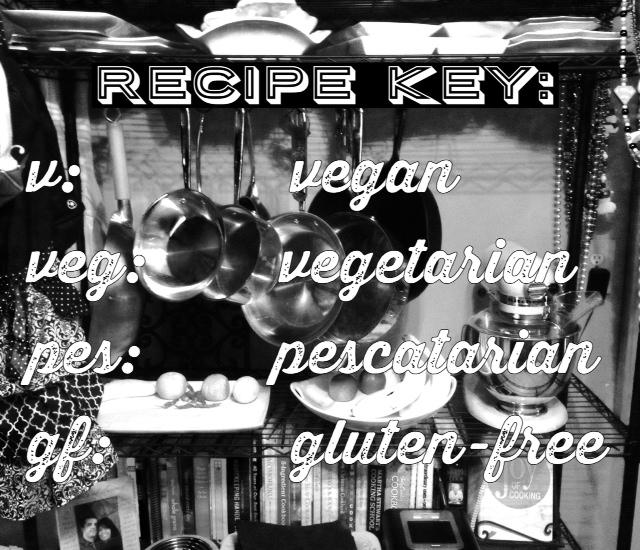 RECIPE KEY
