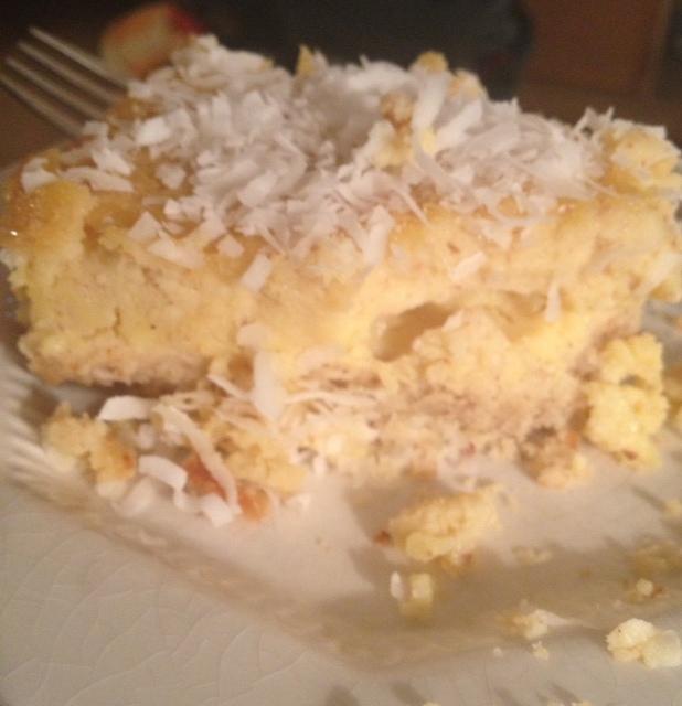 Paleo Lemon Bars... sugar & gluten-free lemony goodness!  (1/4)