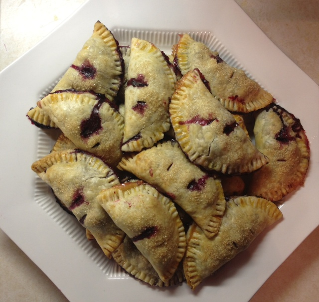 Blueberry Hand Pies! Because sometimes, pie is all that will do.... (1/5)