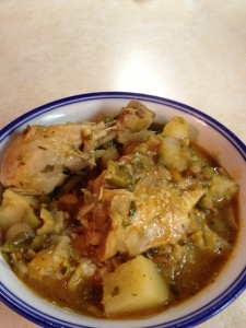Pollo Guisado: Dominican Stewed Chicken (gf)