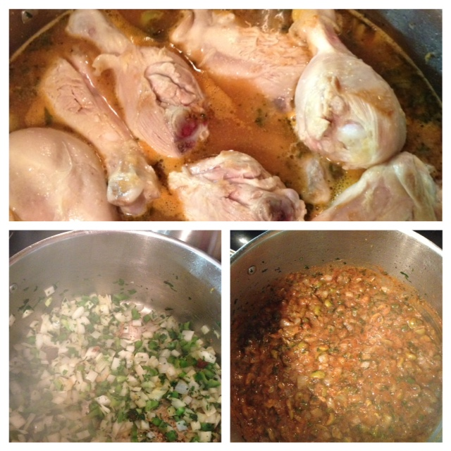 Pollo Guisado: Dominican Stewed Chicken (gf) (4/6)
