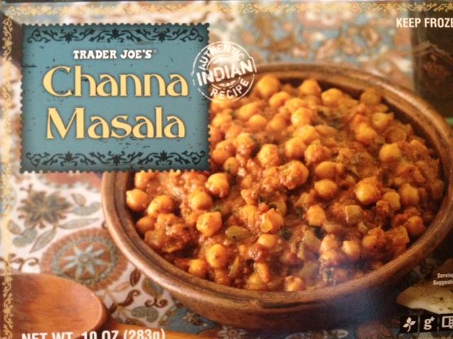Trader Joe's Upgrade: Channa Masala with Chicken & Peas (3/4)