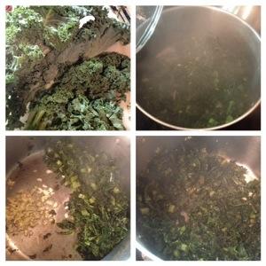 Spaghetti Squash & Garlicky Kale: Vegan Italian Extravaganza! (2/3)