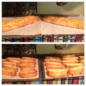 biscotti cooling