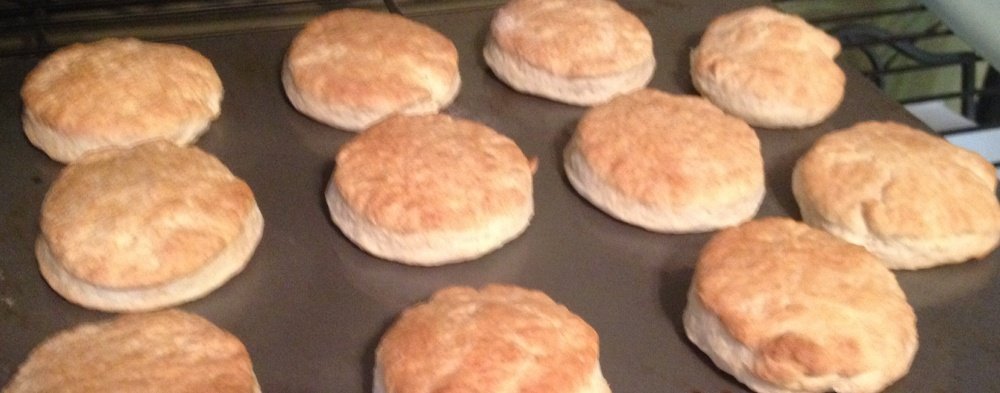 Stand Mixer Buttermilk Biscuits, or Ode to the KitchenAid, or Today, I Am A Woman (1/6)