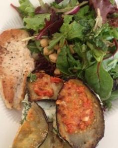 eggplant dinner