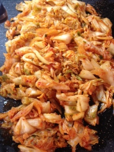kimchi chopped