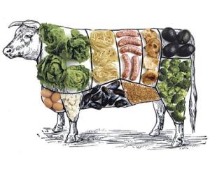 veggie cow