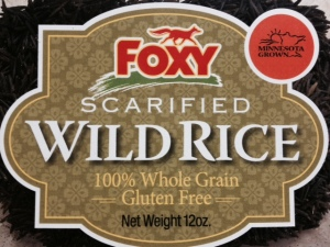 I got some wild, wild rice